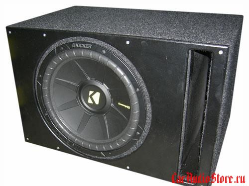 Kicker CWD124 vented box