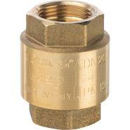 Клапан обратный пружинный муфтовый с пластиковым седлом  3/4    Арт.  SVC-0002-000020   STOUT