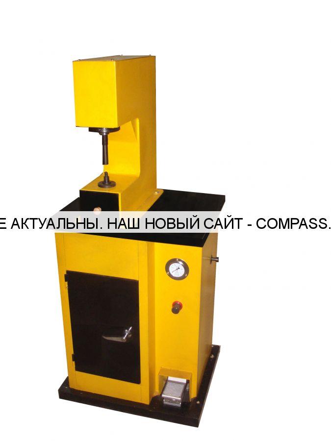 Пневмопресс для клепки накладок тормозных колодок и дисков сцепления ТТН-410
