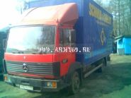 Грузоперевозки Тверь, 38 м. куб,, 5 т., меб. фургон Мерседес 1117