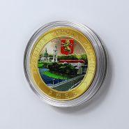 10 рублей 2016г Ржев, Древние города России, биметалл, цветная