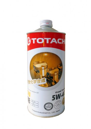 Моторное масло TOTACHI Grand Touring Fully Synthetic SN SAE 5W-40 (1л)