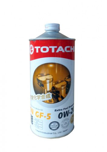 Моторное масло TOTACHI Extra Fuel Fully Synthetic SN SAE 0W-20 (1л)