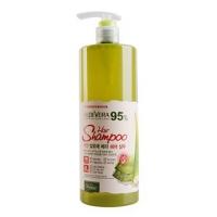 Шампунь для ослабленных волос White Organia с соком алоэ, экстрактами моркови и тыквы, 500 мл