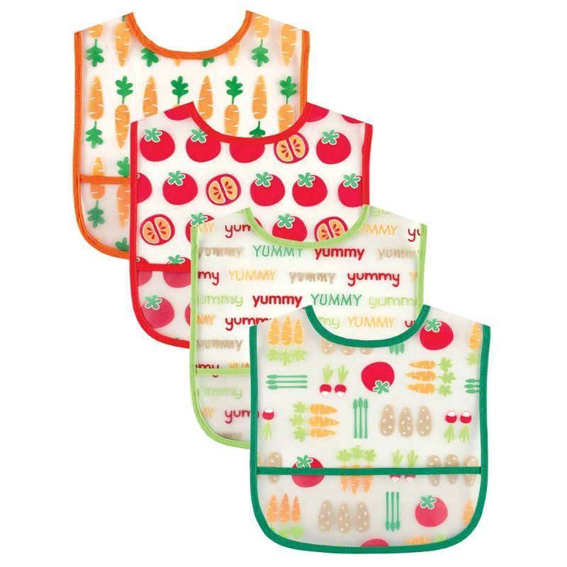 Набор нагрудников Овощи и фрукты
