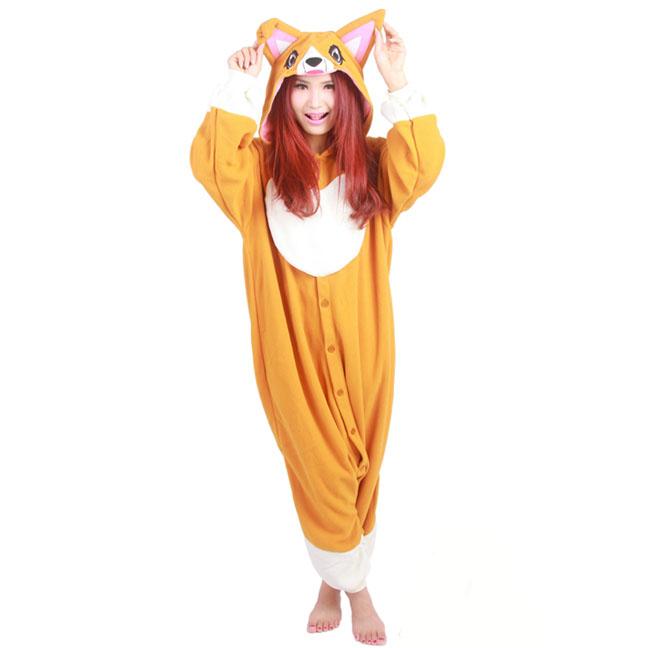 Пижама Кигуруми Собака Корги Премиум
