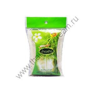 Мыло в мешочке-мочалке Рисовое молочко