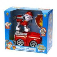 Маршал и пожарная машина