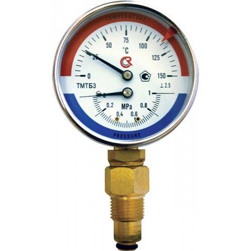 Термоманометр ТМТБ-31Р (0-150°С, 0-1.0 МПа)