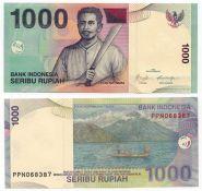 Индонезия - 1000 Рупии 2013 UNC