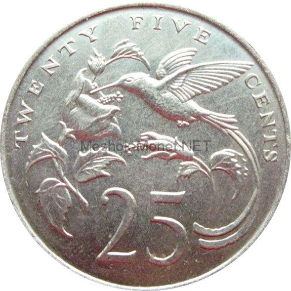 Ямайка 25 центов 1969 г.
