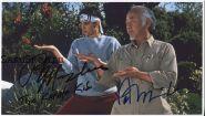 Автографы: Ральф Маччио, Пэт Морита. Парень-каратист. Редкость!