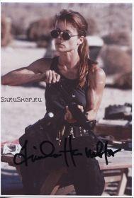 Автограф: Линда Хэмилтон. Терминатор 2: Судный день