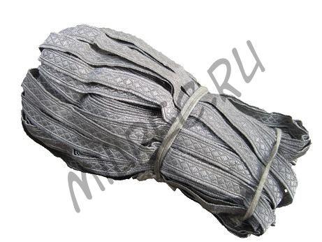 Галун унтер-офицерский, ранний, металлизированный (реплика) 1метр