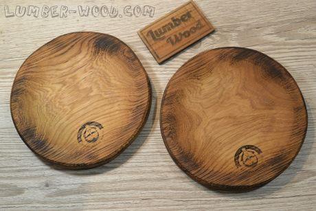 Разделочная тарелка круглая D-20 см. Арт. 256