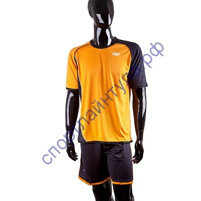 Форма футбольная KM-1 orange/blk/wht Senior M