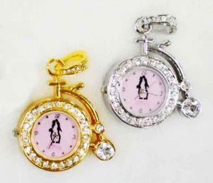 Флешка-Часы Велосипед (серебро, золото)