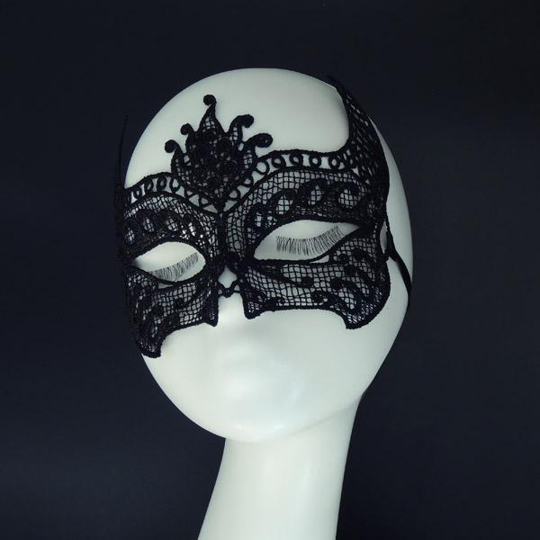 "Ажурная маска ""Павлин"""