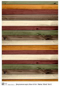 Wood  fon 8