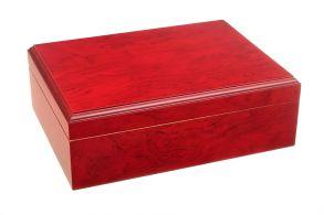 Хьюмидор Tom River с подарочным набором на 25 сигар, Красный