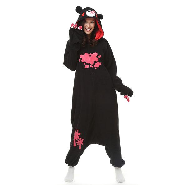 Пижама Кигуруми Мрачный Медведь Черный_01