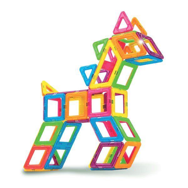 жираф из магнитного конструктора