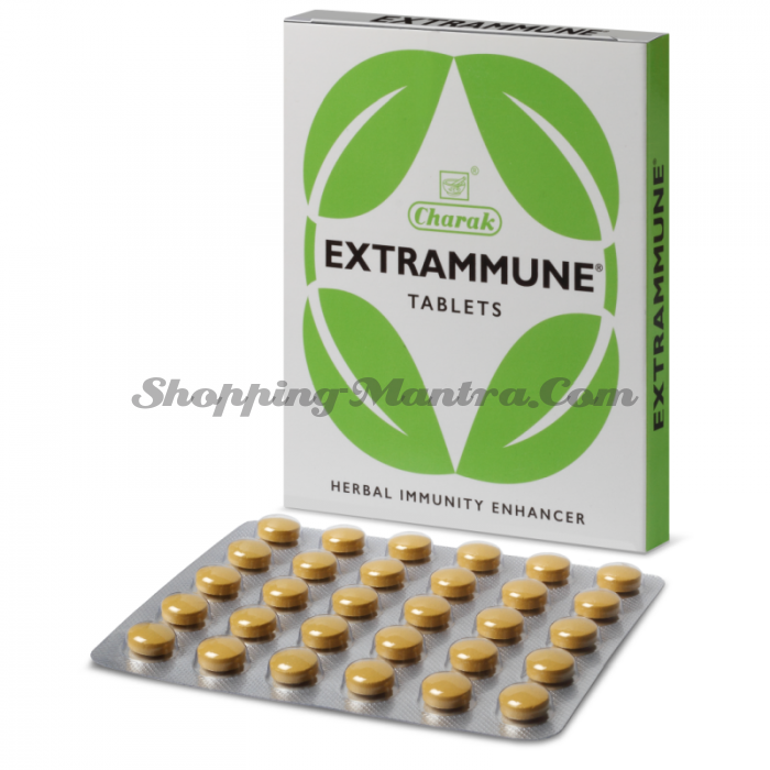 Экстраммун для повышения иммунитета Чарак | Charak Extrammune Tablets