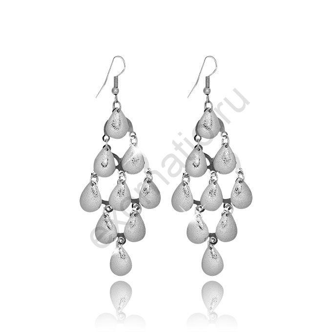 Серьги Mia Collection 52050-9529. Серьги под серебро