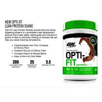 Optimum Nutrition Opti-Fit Lean Protein Shake 1.83 lb (2)
