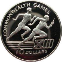Ямайка 10 долларов 1986 г.