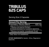 Optimum Nutrition Tribulus 625 состав