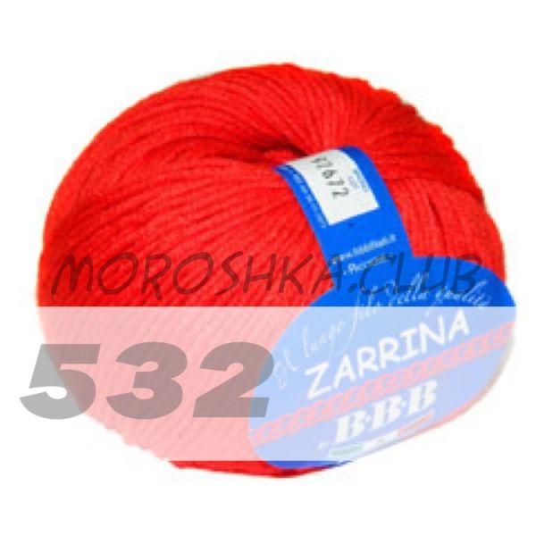 Красный Zarrina BBB (цвет 532)