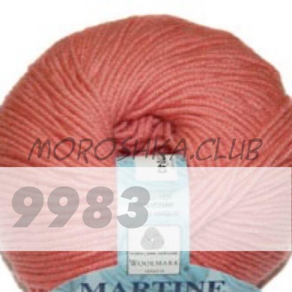 Светло-лососевый Martine BBB (цвет 9983), упаковка 10 мотков