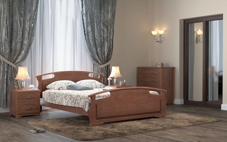 Кровать Афродита (массив бука) | DreamLine