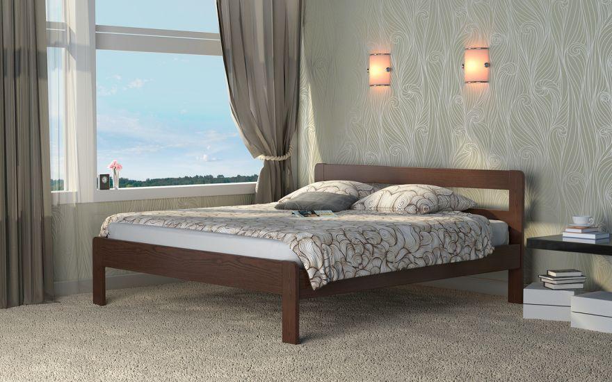 Кровать Кредо 1 (массив ясеня) | DreamLine