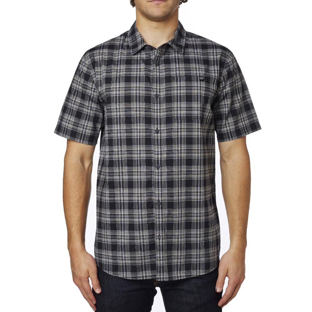 Fox - Krill SS Woven рубашка, черная