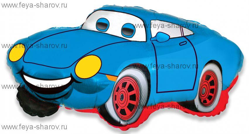 Шар Гоночная машина 81 см Синий