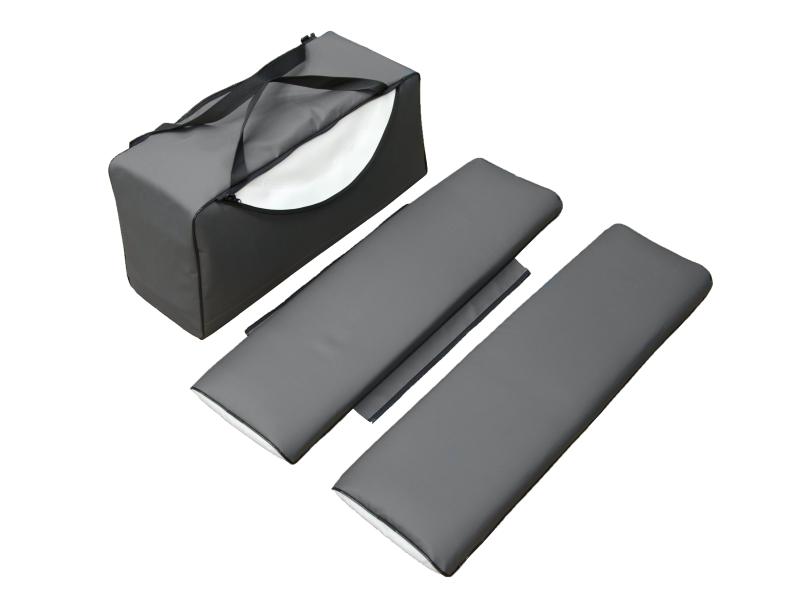 Накладка мягкая с сумкой под банку из ПВХ ТП