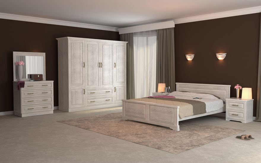 Кровать Эдем Лайт (массив бука) | DreamLine