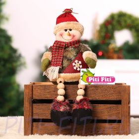 Снеговик фигура (сидячий)