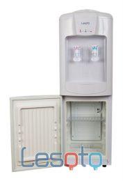Аренда напольного кулера с компрессорным охлаждением (ледяная вода) и холодильником