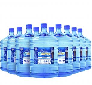 """Вода """"Аква чистая"""" 19л. (100 бутылей)"""
