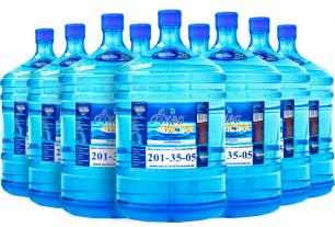 Доставка воды Аква чистая 9 бутылей по 19л.