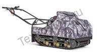 SnowDog Standard  S-R15ME-WR полноразмерный мотобуксировщик с двигателем RATO мощностью 15 л. с., вариатором Сафари