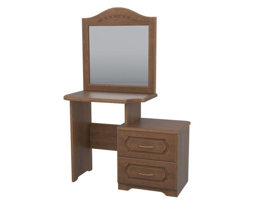 Стол туалетный с зеркалом №1 (массив ясеня) | DreamLine