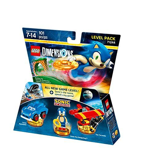 Lego Dimensions 71244 Level Pack (Sonic The Hedgehog)
