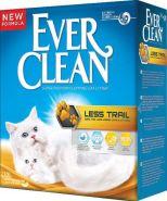 EVER CLEAN Less Trail Комкующийся наполнитель для котят и длинношерстных кошек (10 л)