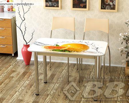 Стол обеденный фотопечать МДФ