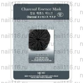 МЖ Essence Маска тканевая древесный уголь Charcoal Essence Mask