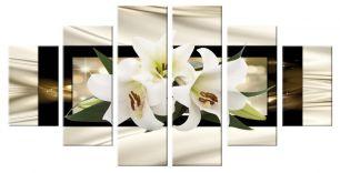 Лилии композиция